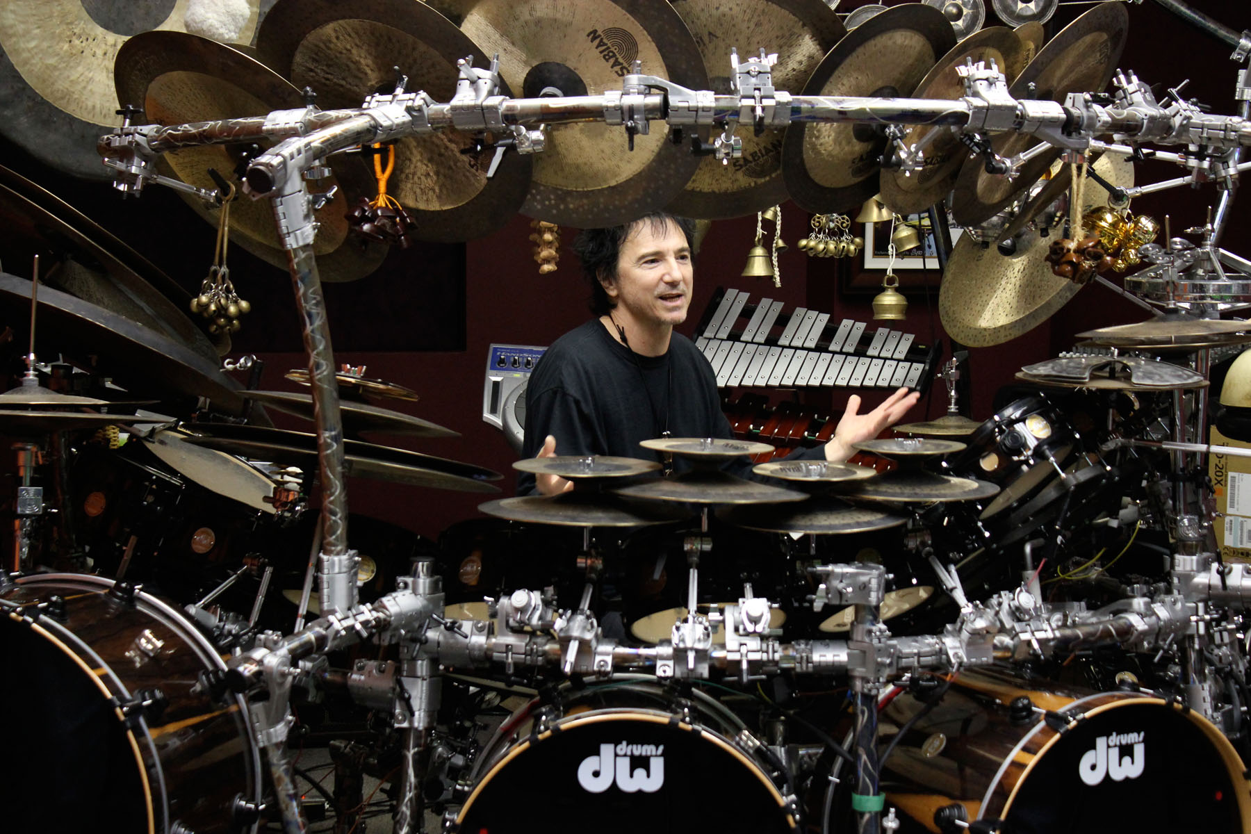terry bozzio drums